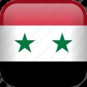 syria, country, flag icon