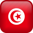 country, flag, tunisia icon