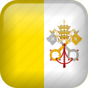 flag, vatican, vatican city icon