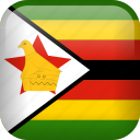 country, flag, zimbabwe icon