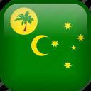 cocos, cocos island, country, flag