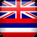 hawaii, country, flag