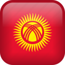 kyrgyzstan, country, flag icon