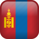 mongolia, country, flag icon