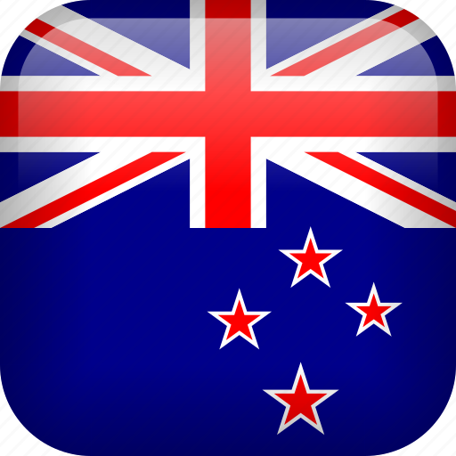 country, flag, new zealand icon