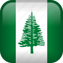 country, flag, norfolk island icon