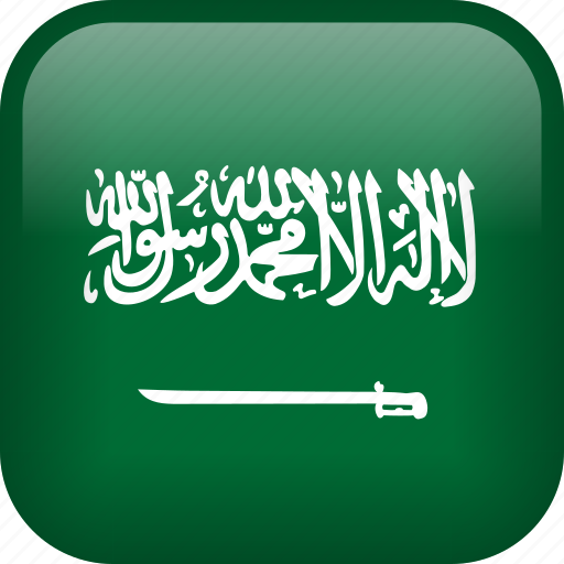arab, arabic, country, flag, saudi arabia icon