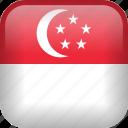singapore, country, flag