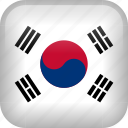 korea, country, flag, south korea icon