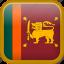 country, flag, sri lanka, srilanka icon