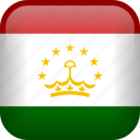 country, flag, tajikistan icon