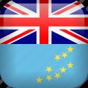 country, flag, tuvalu icon