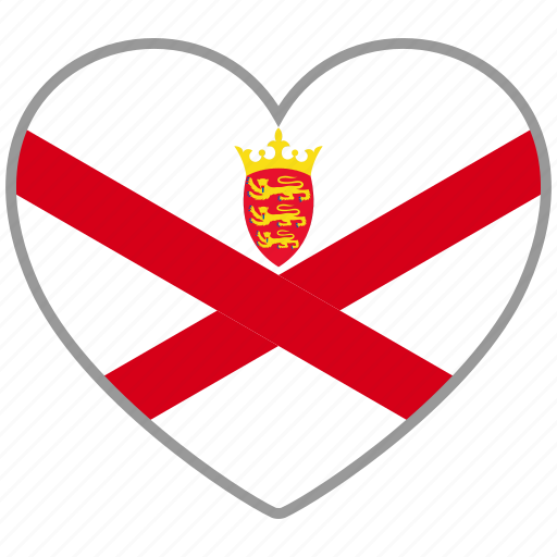 country, flag, flag heart, jersey, love, nation icon