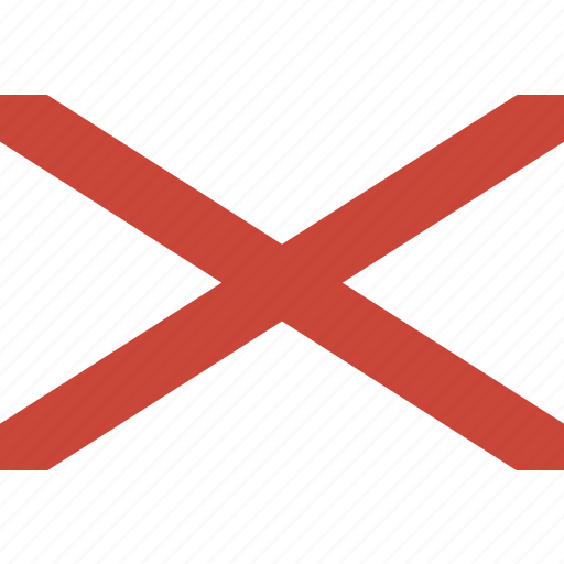 ireland, northern, rectangle icon