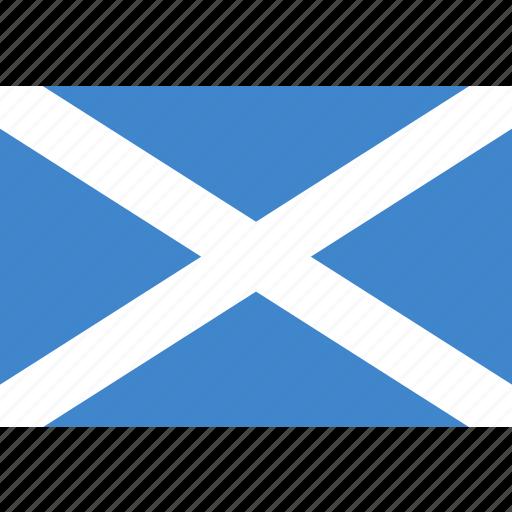 rectangle, scotland icon