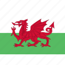 wales, rectangle