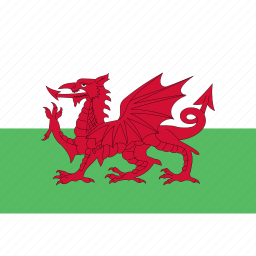 rectangle, wales icon