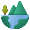 mountain, nature, world, earth, tree, mountains, landscape