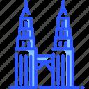 kuala lumpur tower, landmark, malaysia, petronas, world