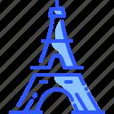 eiffel tower, france, landmark, paris, world icon