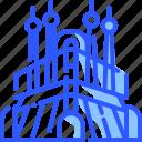 landmark, sagrada familia, spain, world icon