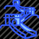 china, chinese, great wall, landmark, world icon