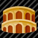 architecture, arena di verona, building, heritage, history, world landmark icon