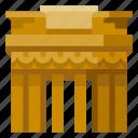 architecture, brandenburg, building, gate, heritage, history, world landmark icon