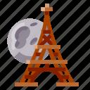 architecture, building, eiffel, heritage, history, world landmark icon