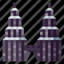 architecture, building, heritage, history, petronas, tower, world landmark icon