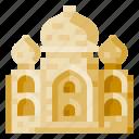architecture, building, heritage, history, taj mahal, world landmark icon