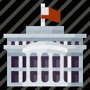 architecture, building, heritage, history, white house, world landmark icon