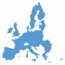 eu, europe, european, location, map, navigation, union icon