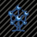atomium, landmark, monument icon