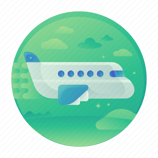 air, flight, plane, transport, transportation, travel icon