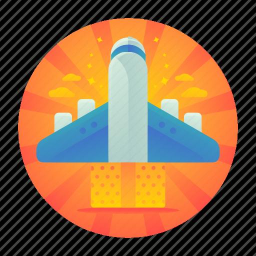 air, flight, plane, travel icon