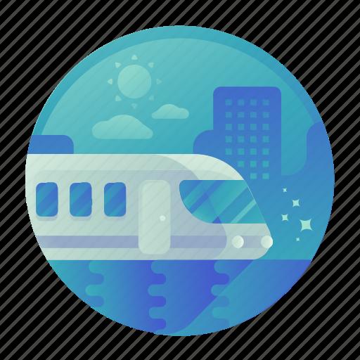 Train, transport, transportation, travel icon - Download on Iconfinder