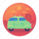 car, tour, tourism, transport, transportation, travel icon