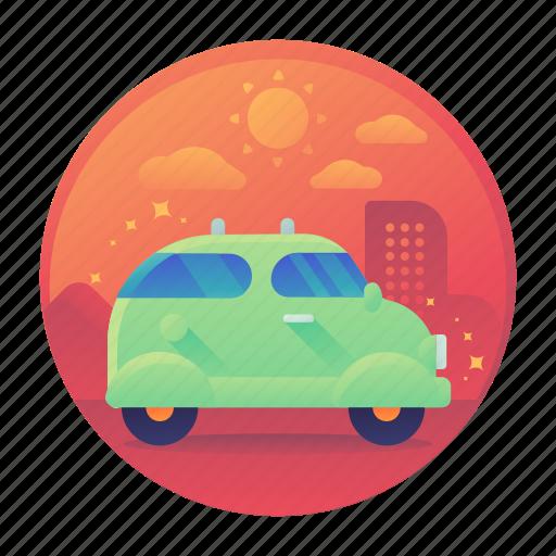 car, tour, tourism, transport, transportation, travel icon