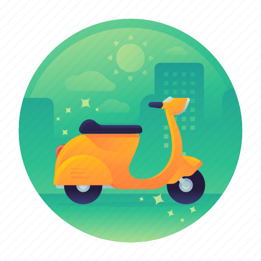 Bike, motor, motorbike, motorcycle, scooter, travel icon - Download on Iconfinder