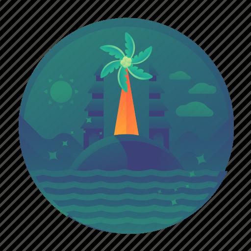 bali, gate, island, landmark, monument, travel icon