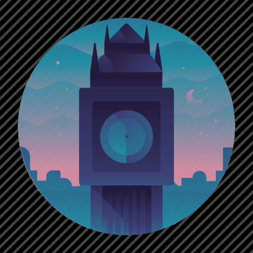 big ben, england, europe, london, travel, trip icon