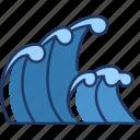 waves, water, sea, ocean, nature, beach, coast