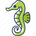 seahorse, animal, sea, fish, wildlife, nature, ocean
