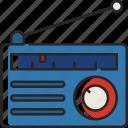 radio, music, audio, communication, device, antenna, media