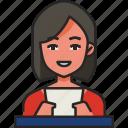 anchorwoman, journalist, reporter, anchor, news, announcer, newscaster
