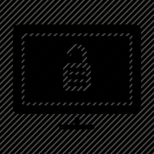 computer, display, internet, technology, unlocked, web icon