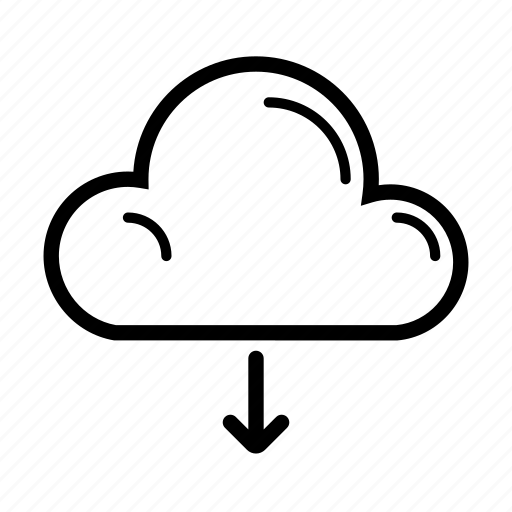 cloud, computer, download, internet, technology, web icon