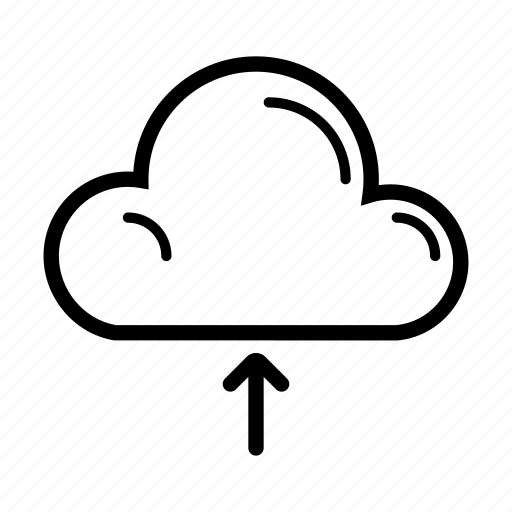cloud, computer, internet, technology, upload, web icon