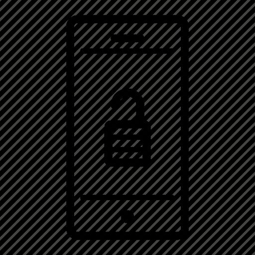 computer, internet, smartphone, technology, unlocked, web icon